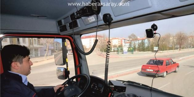 İtfaiye araçlarına kamera sistemi yerleştirildi