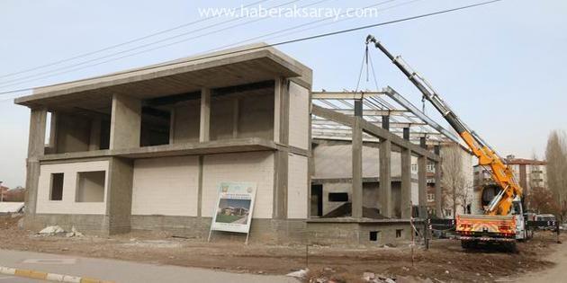 Kadın Aktivite Merkezi inşaatında sona yaklaşılıyor