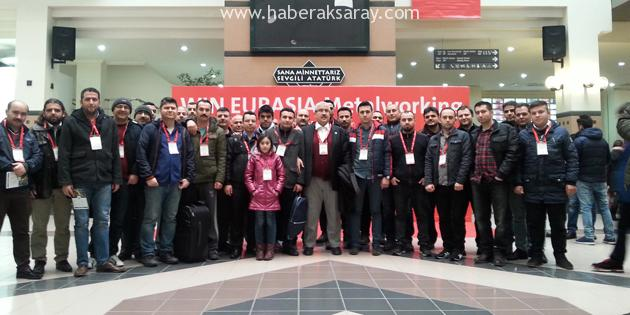 ATSO üyeleri WIN EURASIA METALWORKING fuarına katıldı