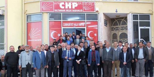 CHP Sultanhanı'nda yeni binasını açtı