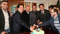 Gazetecilerden Başkan Yazgı'ya doğum günü sürprizi