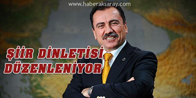 Aksaray'da Muhsin Yazıcıoğlu Şiir Dinletisi yapılacak