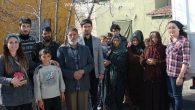 Öğrenci Konseyi'nden Türkmen Ailelere yardım