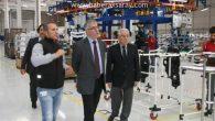 Vali Ataklı OSB'deki fabrikaları ziyaret etti