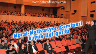 Aksaray Belediyesi'nden öğrencilere moral motivasyon semineri
