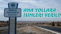 Aksaray'da devlet adamlarının isimleri bulvarlarda