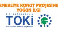 TOKİ'nin emekliye konut projesine yoğun ilgi