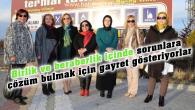 Kadın Platformu burslu çay toplantısı Ziga'da yapıldı