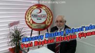 Aksaray Kızılay'da yeni başkan Efrayim Şişman