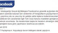 Facebook'ta hızla yayılan yanlış!