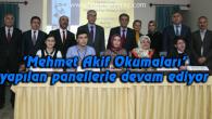 'Mehmet Akif Okumaları' yapılan panellerle devam ediyor