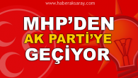 MHP'li Belediye Başkanı AK Parti'ye geçiyor