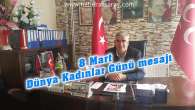 MHP İl Başkanı Kaşlı'dan Dünya Kadınlar Günü mesajı