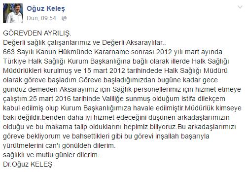 oguz-keles-istifa-facebook
