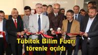 Tübitak Bilim Fuarı törenle açıldı