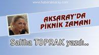 Aksaray'da Piknik Zamanı