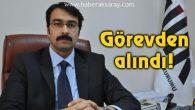 TÜİK Bölge Müdürü görevinden alındı