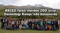 AKÇED farklı illerden 200 izciyi Hasandağı Kampı'nda buluşturdu