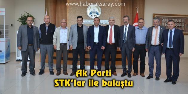 Ak Parti, STK'lar ile buluştu