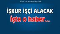 Aksaray'da TYP kapsamında işçi alınacak