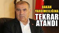 Ali Rıza Alaboyun Bakan Yardımcılığına tekrar atandı