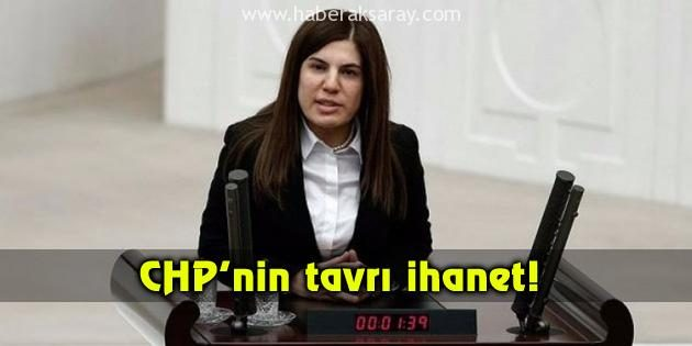 İnceöz: CHP'nin tavrı ihanet!