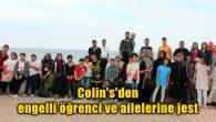 Colin's'den engelli öğrenci ve ailelerine jest