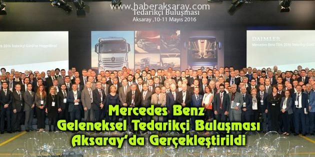 Mercedes Benz Tedarikçi Buluşması gerçekleştirildi