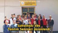 Sultanhanı'nda Tanıtım Semineri düzenlendi