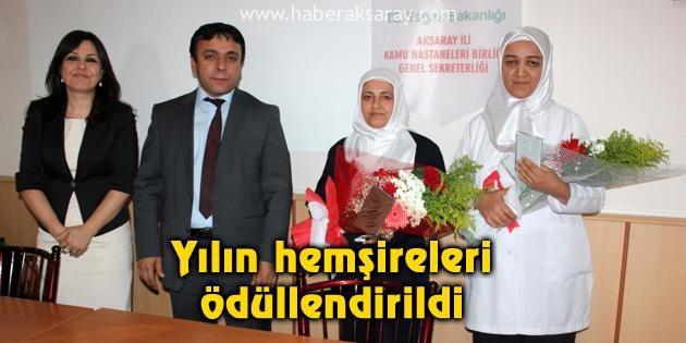 Yılın hemşireleri ödüllendirildi