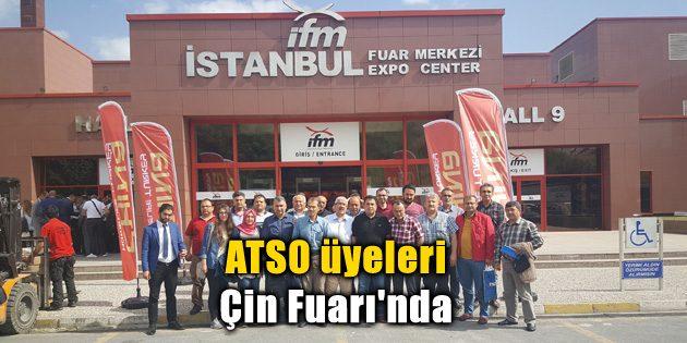 ATSO üyeleri Çin Fuarı'nda