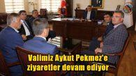 Valimiz Aykut Pekmez'e ziyaretler devam ediyor