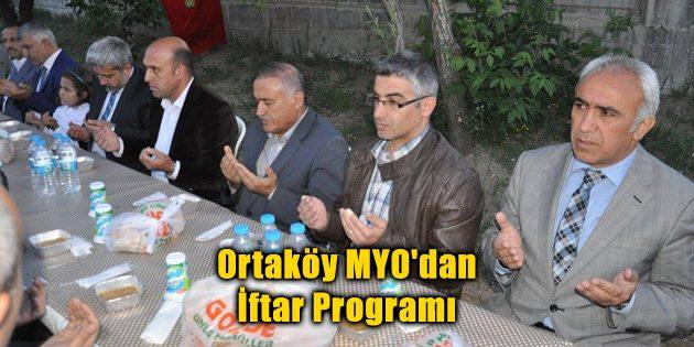 Ortaköy MYO'dan İftar Programı