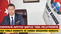 Aksaray Barosu'ndan darbe girişimine kınama