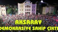 Aksaray Belediyesi tüm imkanlarını seferber etti
