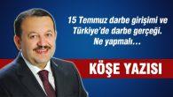 15 Temmuz darbe girişimi ve Türkiye'de darbe gerçeği. Ne yapmalı