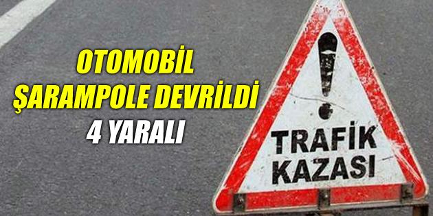 Konya yolunda trafik kazası: 4 yaralı
