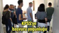Aksaray'da KPSS'ye başvuru yoğunluğu