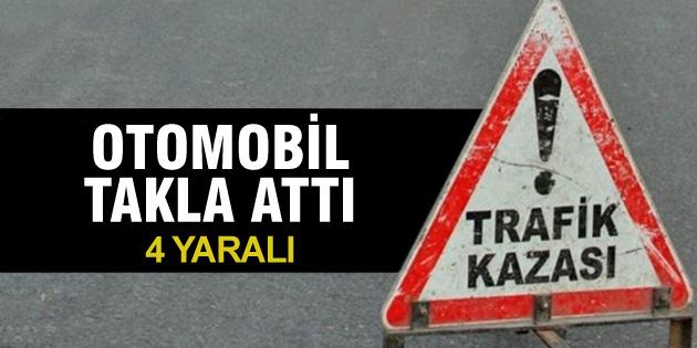 aksaray-otomobil-takla-atti-4-yarali