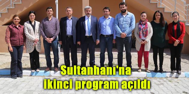 Sultanhanı'na ikinci program açıldı