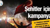 15 Temmuz yardım kampanyasına ATSO'dan 25 bin TL