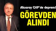 CHP'de deprem! Merkez ilçe başkanı görevden alındı
