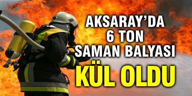 aksaray-6-ton-saman-balyasi-kul-oldu