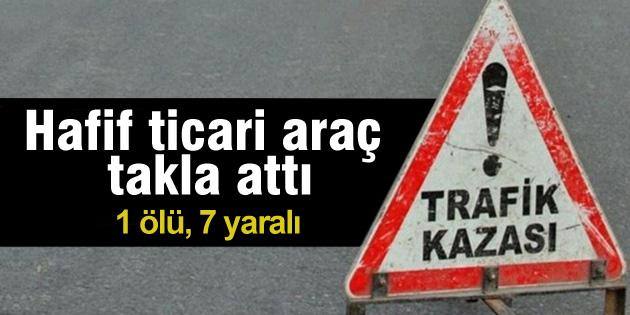 aksaray-hafif-ticari-arac-kazasi