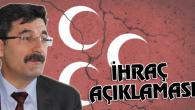 Ayhan Erel'den ihraç açıklaması