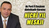 Bütün Müslümanlar için bir dönüm noktası olan Hicret bir Milâd'tır