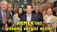 AKMEK'te yılsonu sergisi açıldı