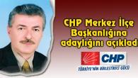 Öncül, CHP Merkez İlçe Başkanlığına adaylığını açıkladı