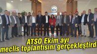 ATSO Ekim ayı meclis toplantısını gerçekleştirdi