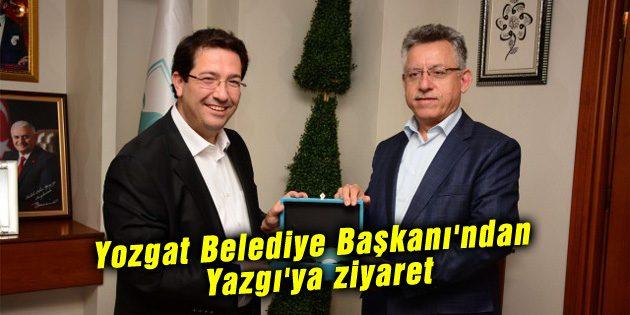 Yozgat Belediye Başkanı'ndan Yazgı'ya ziyaret